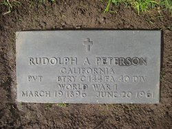 Rudolph Axel Peterson