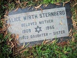Alice <i>Wirth</i> Sternberg