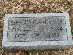 Rebecca C Anderson