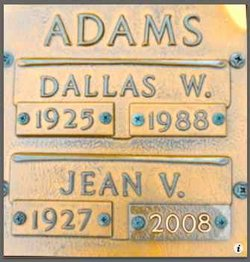 Jean Irene <i>Vail</i> Adams