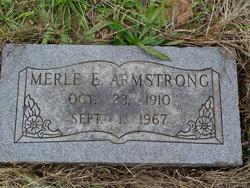 Merle E. Armstrong