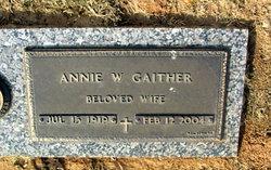Annie <i>Wirtz</i> Gaither