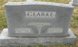 Bertha M Clarke