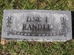 Elsie I. <i>Aldrup</i> Randle