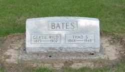 Gertie <i>Wild</i> Bates