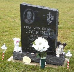 Lisa Ann <i>May</i> Courtney