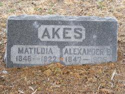 Matilda Jane <i>Osborn</i> Akes