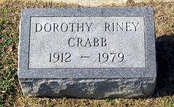 Dorothy <i>Riney</i> Crabb