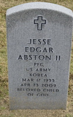 Jesse Edgar Abston, II