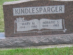 Mary Mildred <i>Rogers</i> Kindlesbarger