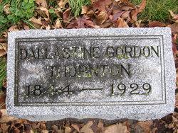 Dallastine Fredon <i>Gordon</i> Thornton