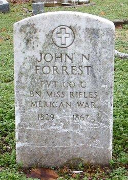 Pvt John Nathan Forrest