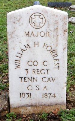 Maj William H. Forrest