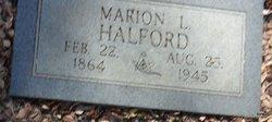 Marian Lee Halford