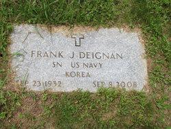 Frank J Deignan