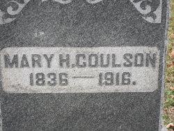 Mary Henrietta <i>Outcalt</i> Coulson