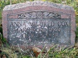 Anna Mildred Cox