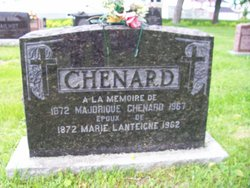 Marie <i>Lanteigne</i> Chenard