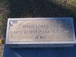 Arden <i>Lomax</i> Ivey