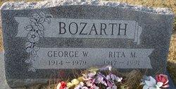 Rita Monica <i>Ridgway</i> Bozarth
