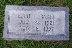 Effie L. <i>Hamilton</i> Baker