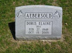 Doris Elaine Aebersold