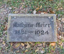 Mathilde <i>Berner</i> Meier