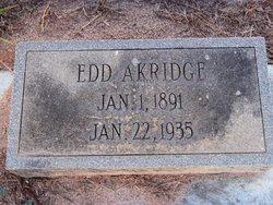Edd Akridge