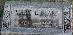 Mary B <i>Thomas</i> Blake