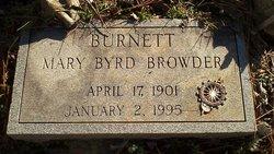 Mary Byrd <i>Browder</i> Burnett