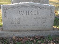 Helen <i>Chappell</i> Davidson