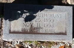 Gladys Ruth <i>Williamson</i> Hunt