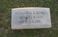 Marjorie E North