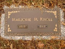Marjorie M Knoll