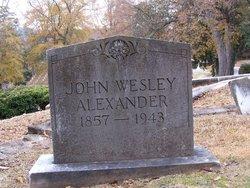John Wesley Alexander
