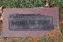 Barbara Kay Brown