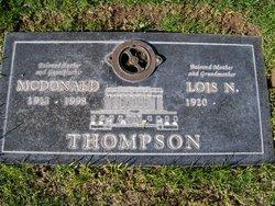 McDonald THOMPSON