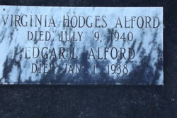 Virginia <i>Hodges</i> Alford