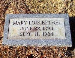 Mary Lois Lois <i>Byrd</i> Bethel