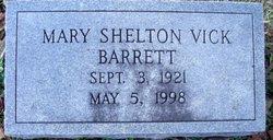 Mary Shelton <i>Vick</i> Barrett