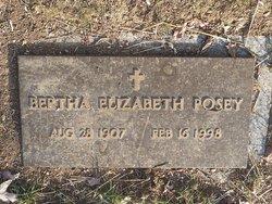 Mrs Bertha Elizabeth Betty <i>Hodges</i> Posey