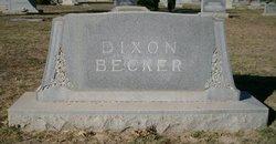 Edward Davidson Dixon