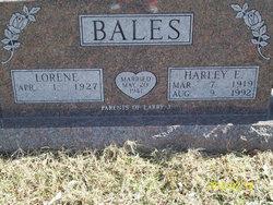 Lorene <i>Dillinger</i> Bales