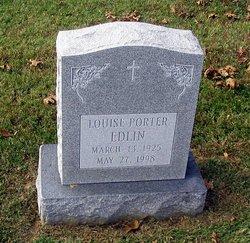 Louise <i>Porter</i> Edlin