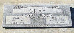 Oval Ree Gray