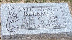 Geneva Nell <i>Homsley</i> Berkman