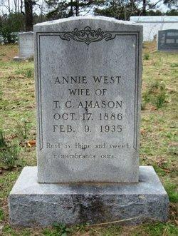 Annie <i>West</i> Amason