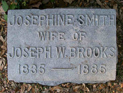 Frances Josephine Josie <i>Smith</i> Brooks