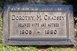 Dorothy M <i>Kelly</i> Chadsey