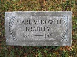 Pearl <i>McDowell</i> Bradley